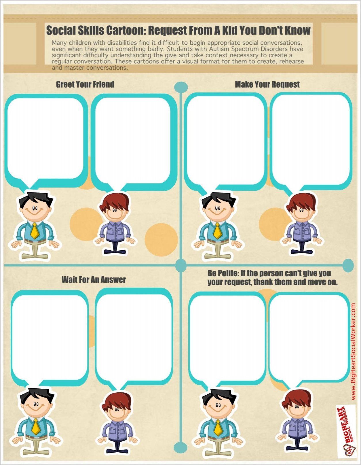 Social Skills Printable Worksheets In 2020 Printable Worksheets Main Idea Worksheet Worksheets [ 1614 x 1254 Pixel ]
