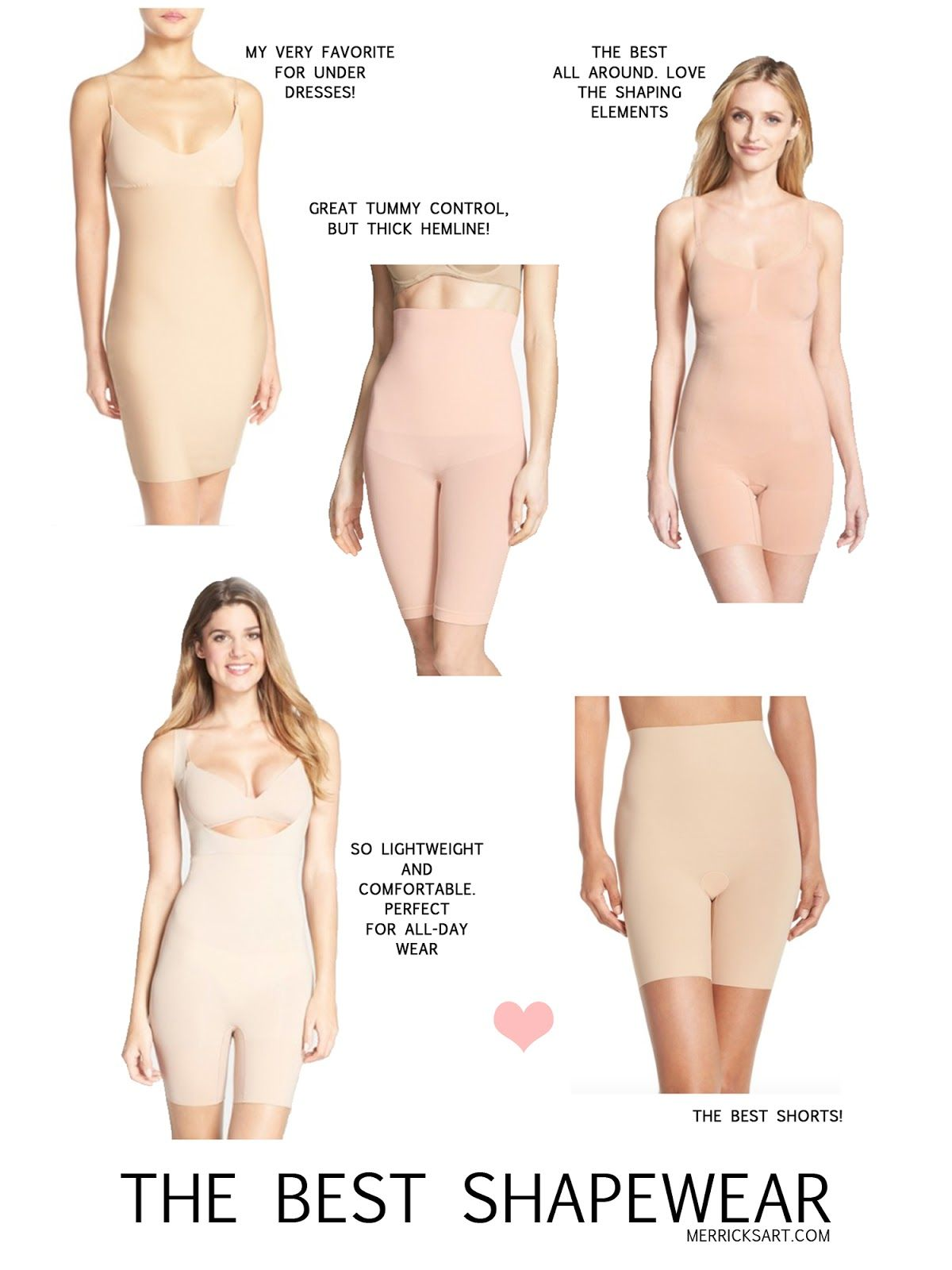 b6ecae9bbe8 Every woman should have one piece of shapewear in her closet! Check out  this review of different styles from  nordstrom on merricksart.com.