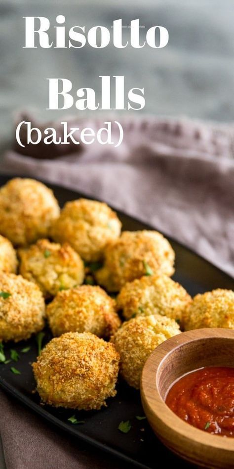 Photo of Baked Risotto Balls