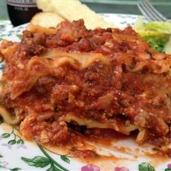 My very own Homesyle Lasagna is on Allrecipes.com! Kim's Lasagna Allrecipes.com