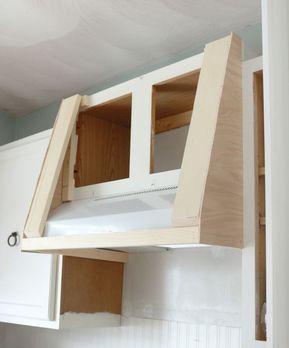 Best My Diy Kitchen How I Built A Rangehood Over An Existing 400 x 300