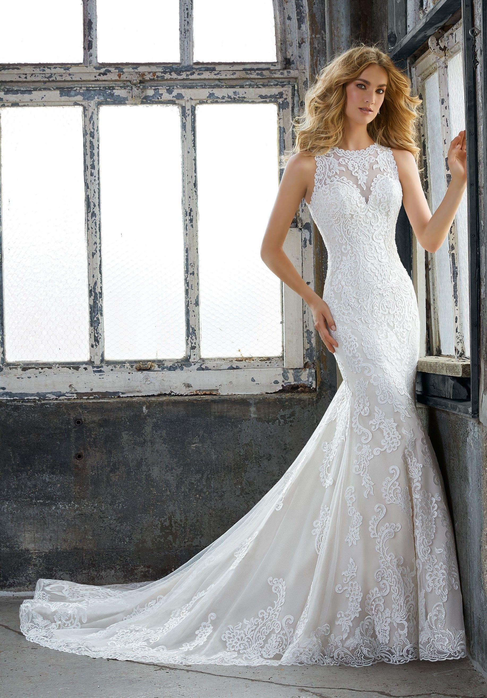 bd6a326bde009 Mori Lee Wedding Dress Size 12 - raveitsafe