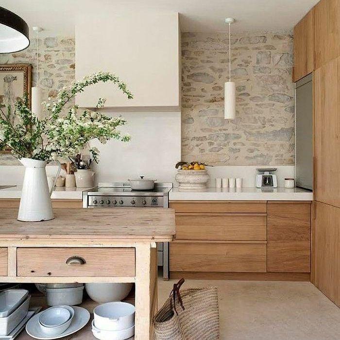 Kitchen Interior, Interior Design Kitchen, Wooden Kitchen