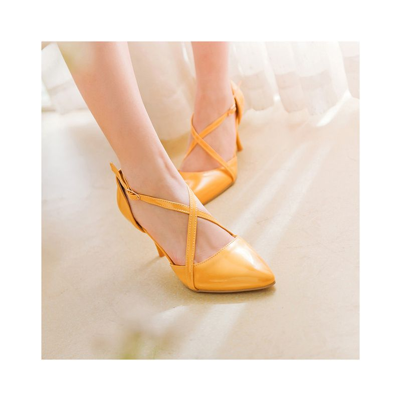 >> Click to Buy << Hot sales women's pumps fashion Ankle Strap party style women shoes high thin heels Pointed Toe Spring/Autumn office lady shoes #Affiliate