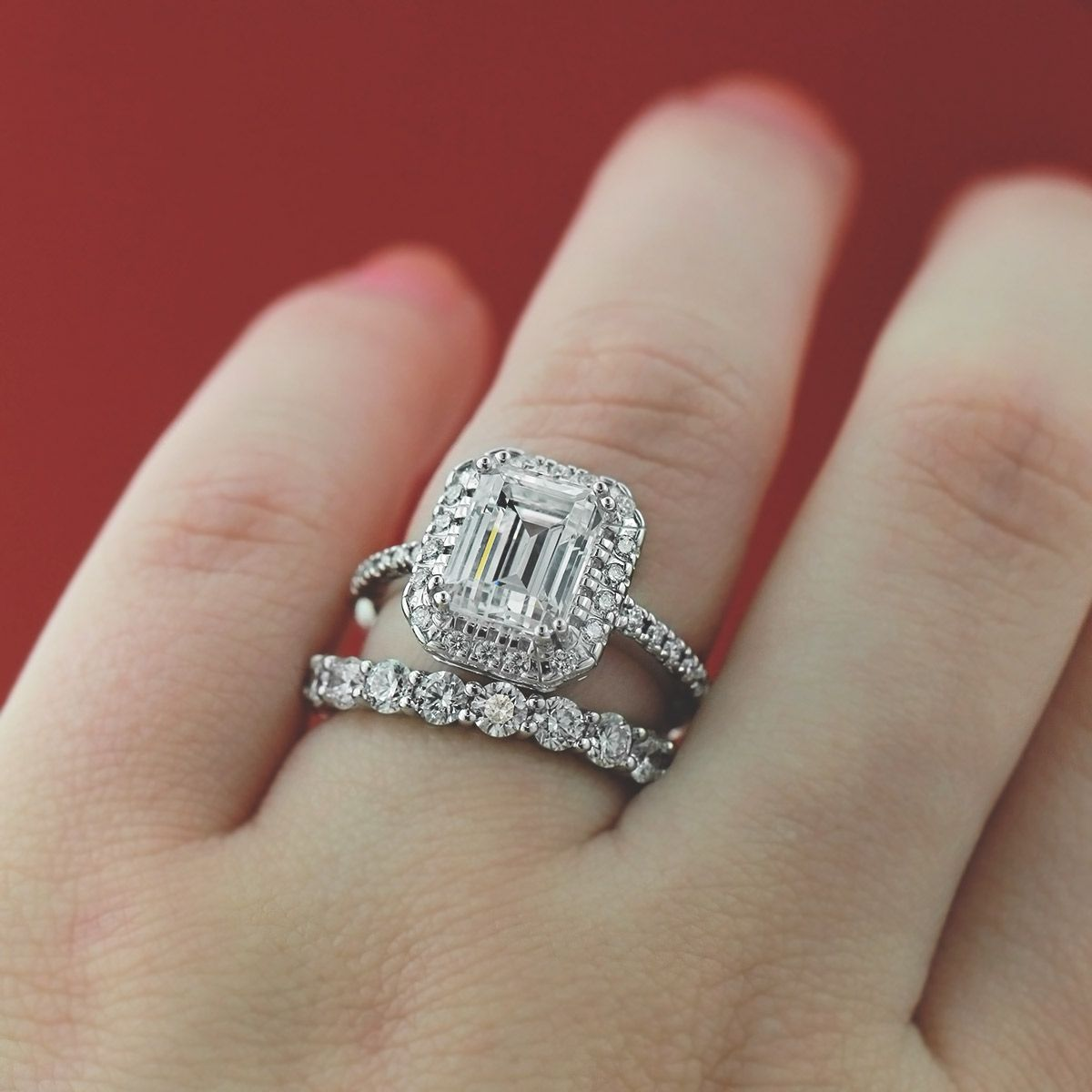 Monica Engagement Ring | Mix and Match Rings | Pinterest ...