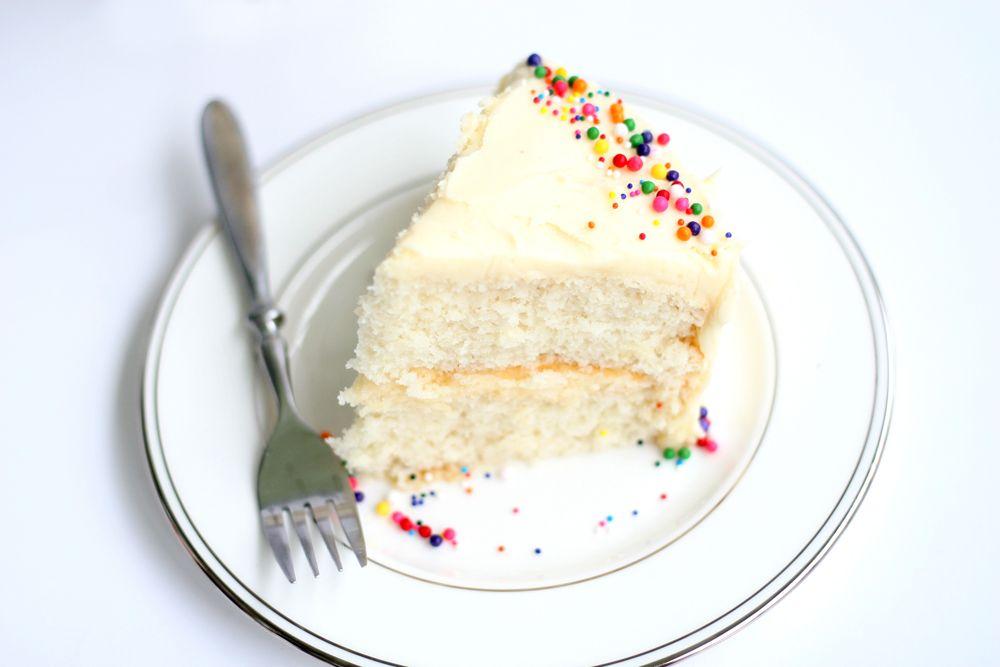 White Almond Sour Cream Cake Wasc Recipe Sour Cream Cake Vanilla Cake Recipe With Sour Cream Recipes Using Cake Mix