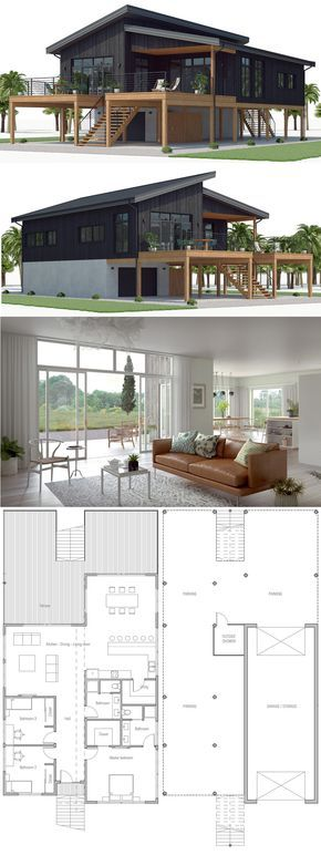 Beach Home Plans Beach House Plans New Home Plan Newhomeplans Homeplans Floorplans Architecture Adhousepla House Layouts New House Plans House Blueprints