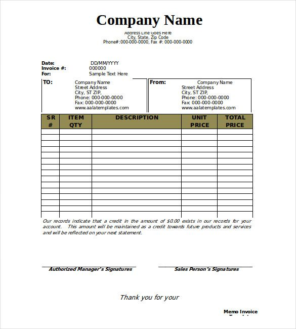 28 blank invoice templates free premium templates Food  Lifestyle