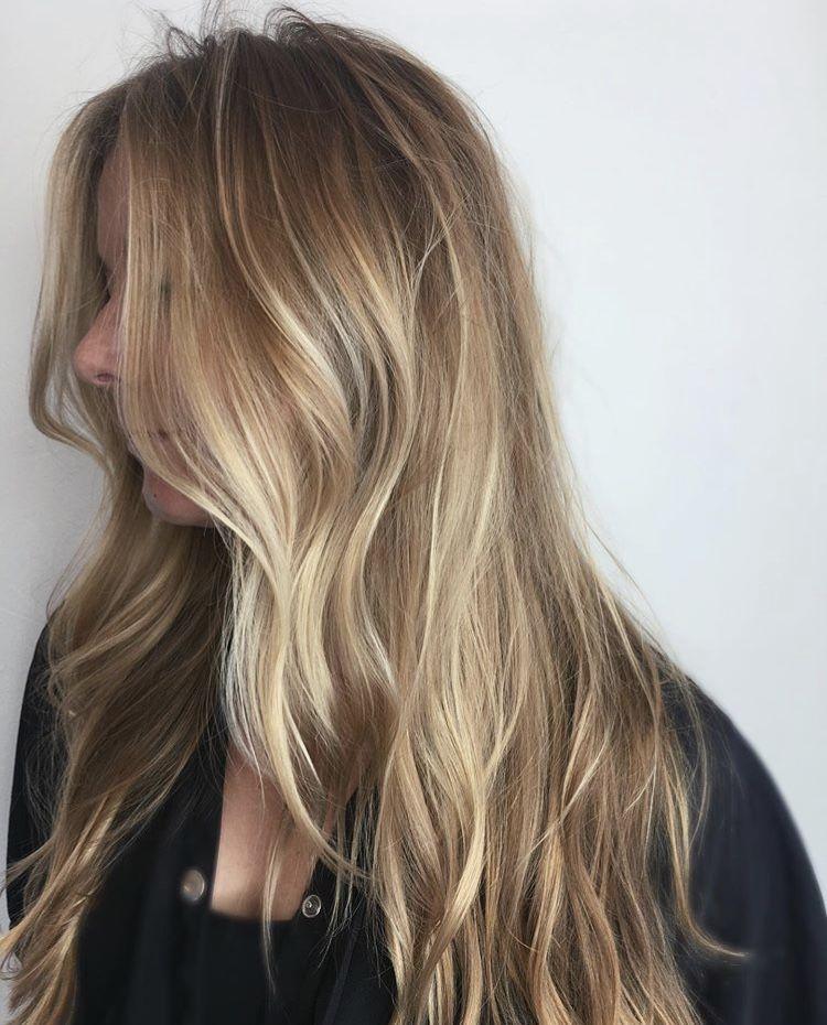 Balayage Baby Lights Blonde Hair Insta Cassidy Hair Light