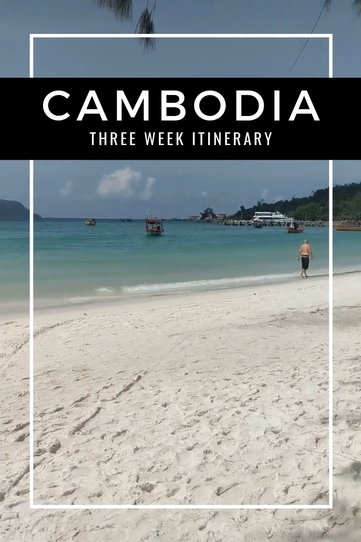 Cambodia is one of Southeast Asia's cultural and historical gems. Here is my three week itinerary for Cambodia including bustling cities, paradise islands and sleepy riverside towns. #Cambodia