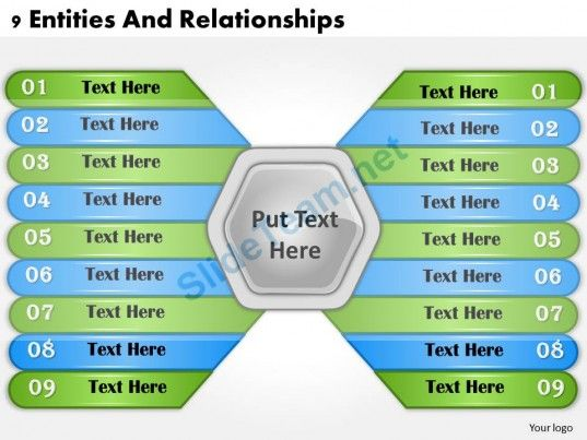 1013 business ppt diagram 9 entities and relationships powerpoint 1013 business ppt diagram 9 entities and relationships powerpoint template toneelgroepblik Images