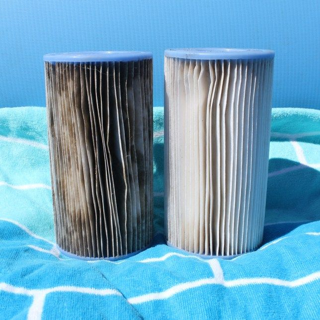 How To Clean Reuse Intex Pool Filters With Images Pool Hacks