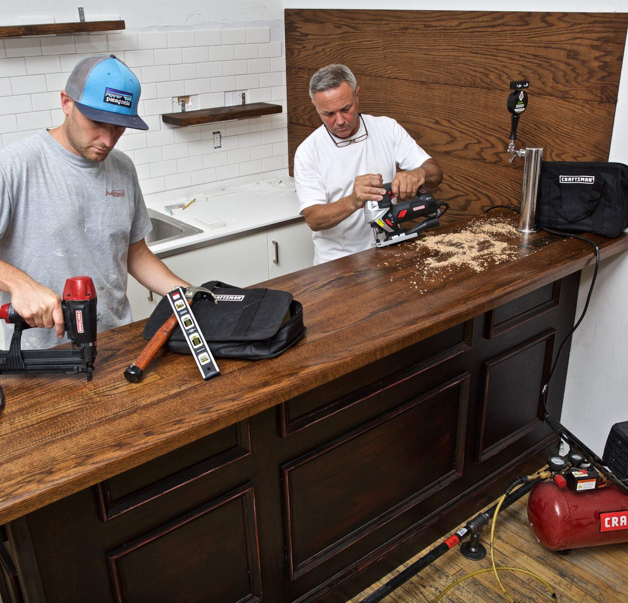 Home Bar Building Plans: How To Build A Home Bar: A Step-By-Step Guide