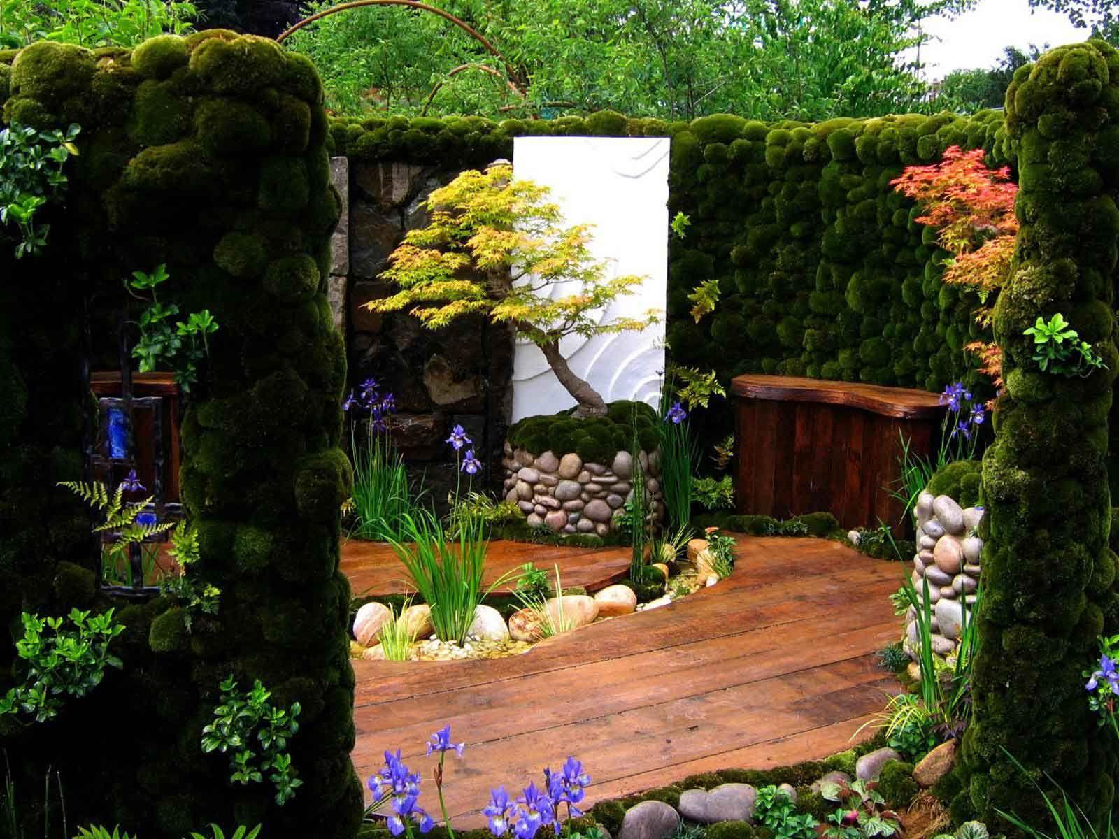 fotos paisajes de jardines plantas flores naturales imagenes