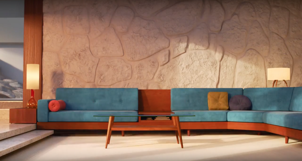 How Mid Century Modern Decor Inspired The Incredibles 2 Set Design -   23 mid century modern garden