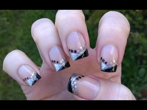 easy nail art designs for holidays elegant party  new