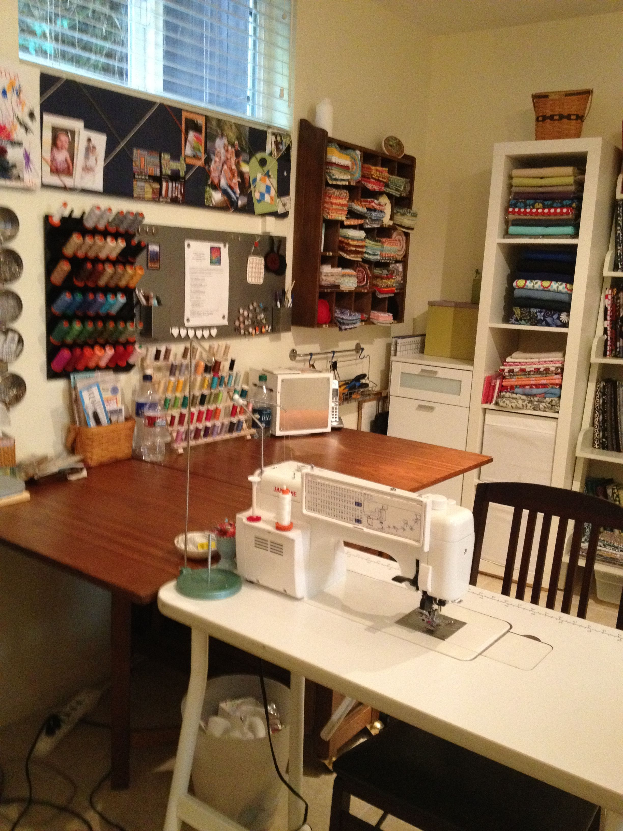 Art Studio Decor Sewing Room Of The Month Sewing Room Ikea Sewing Rooms