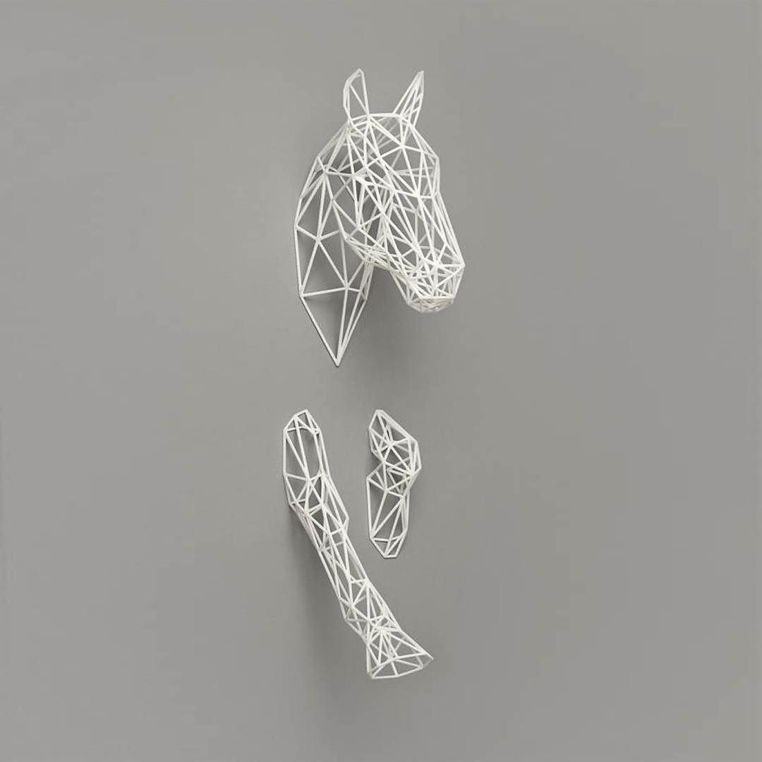 Make way! 3D print ghost horse coming in! Discover uncommon designs ...