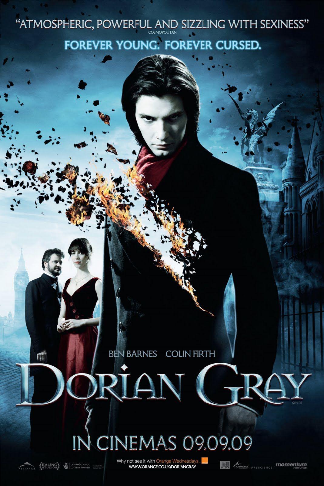 Resenha Filme O Retrato De Dorian Gray Filmes Cartazes De