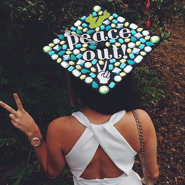 61 creative ways to decorate your graduation cap - Graduation Caps Decorated