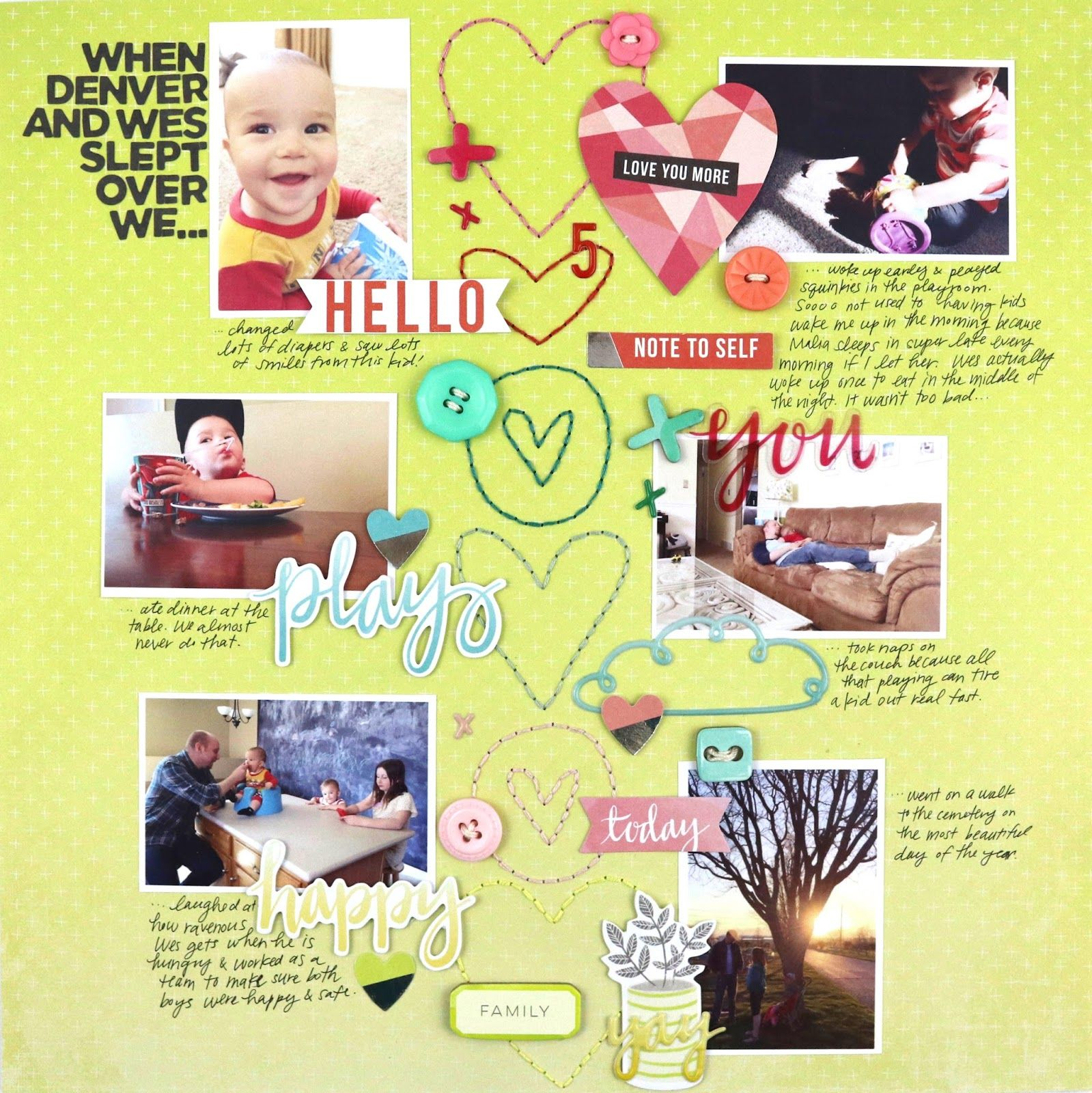 Things That Matter Collection Disconnection Fancy Free 5 Sleepover Scrapbook Layout Sketches My Scrapbook Baby Boy Scrapbook