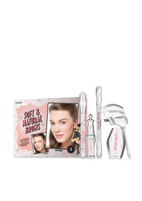 Benefit Cosmetics Soft & Natural Brows Kit - $62 Value! #naturalbrows