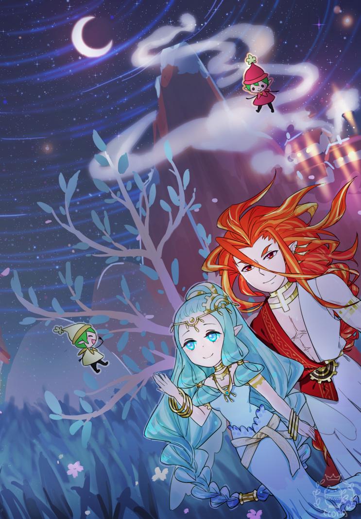 ิω・ิ) — a quiet night ☾ Harvest moon game, Harvest moon