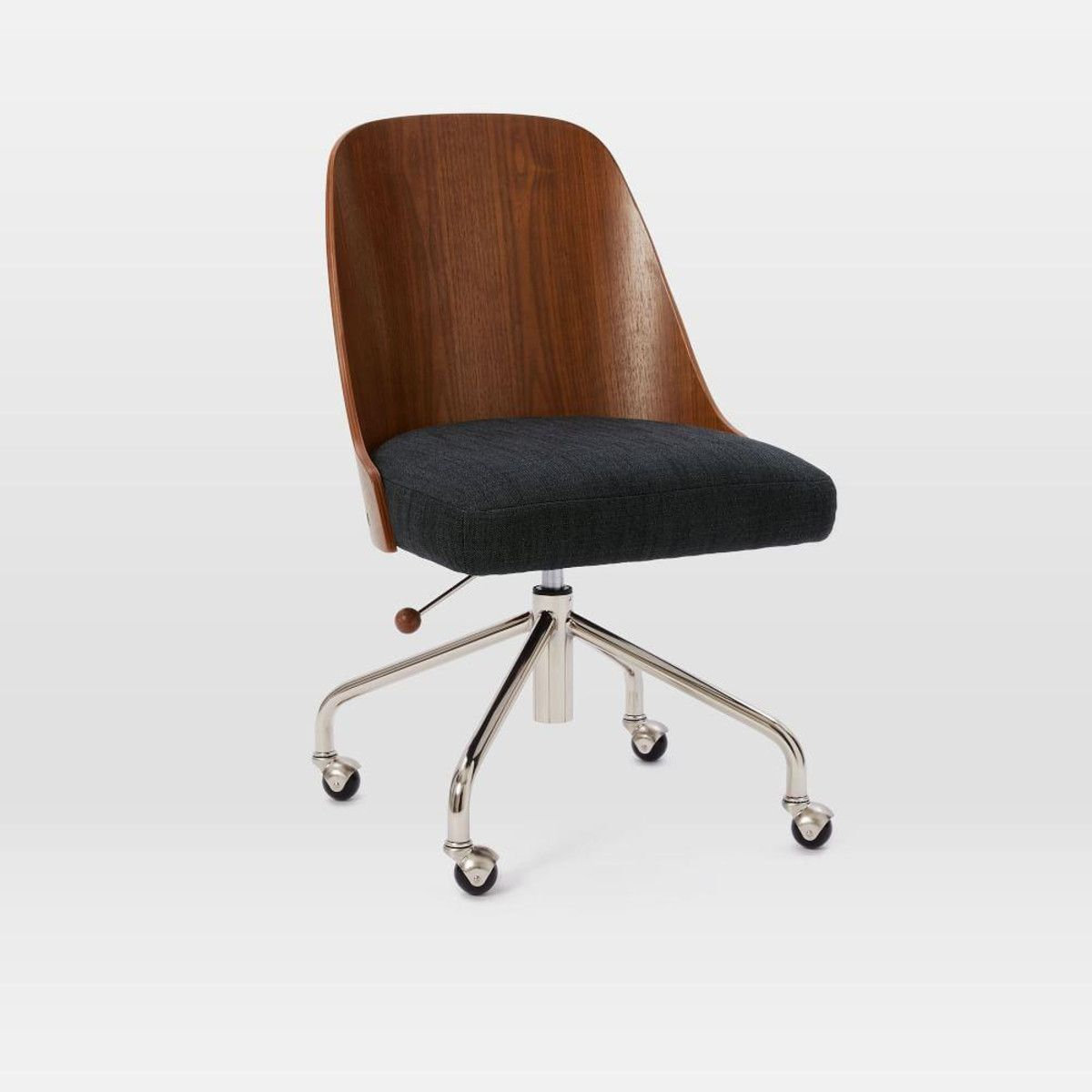 west elm office chair. Bentwood Office Chair + Cushion West Elm R