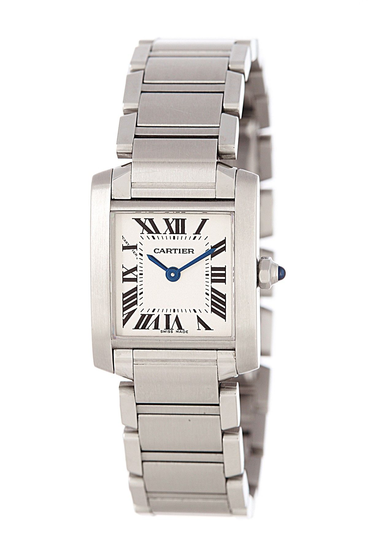 486127bd8725 Vintage Cartier Women s Tank Francaise Stainless Steel Watch