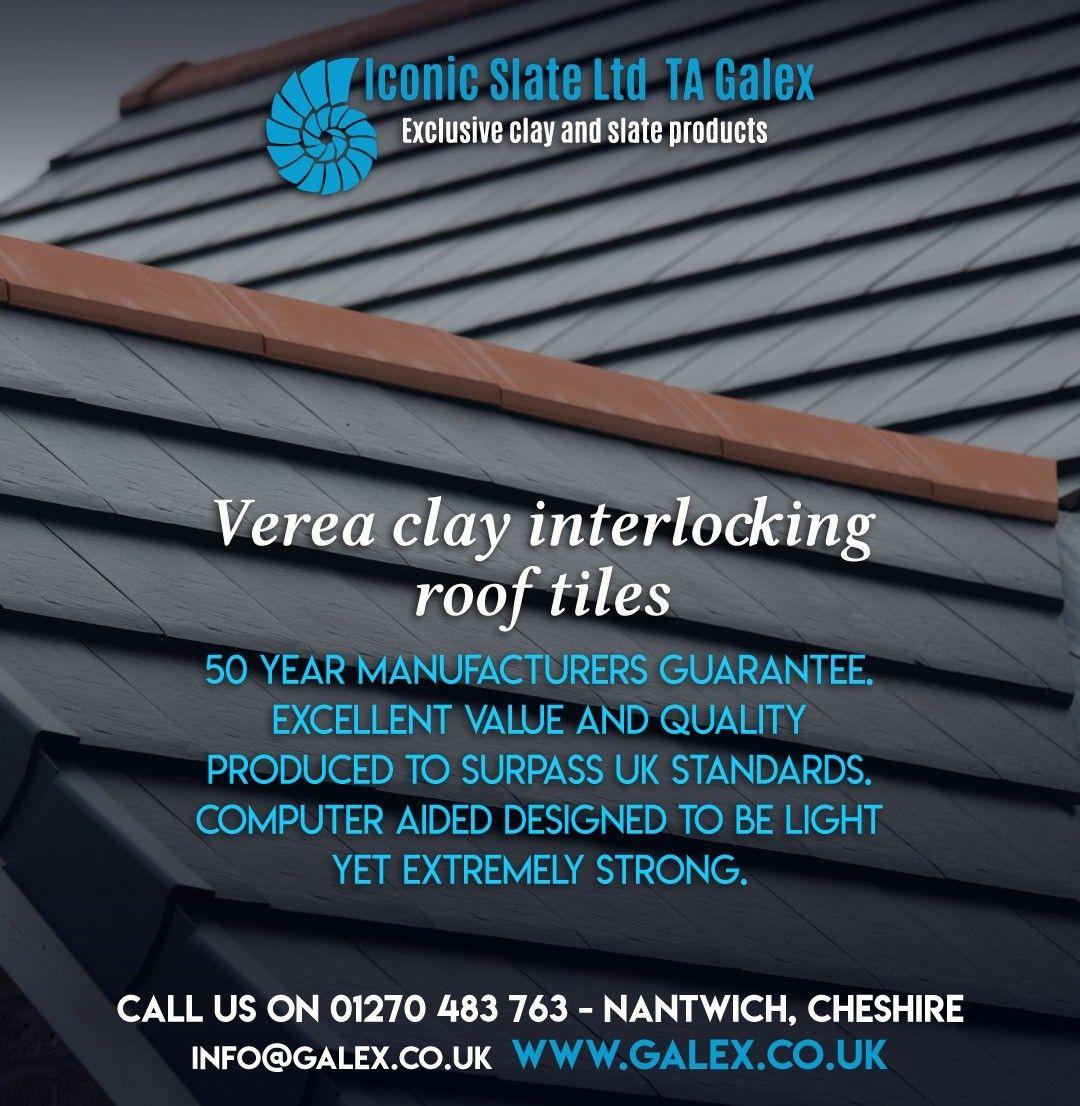 Verea Clay Interlocking Roof Tiles Call Us On 01270 483 763 Roofing Rainscreensystem Ventilatedfacades Slateroofing Clay Roof Tiles Clay Roofs Clay Tiles