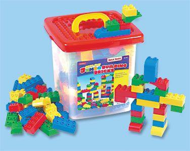 Jumbo Basic Building Bricks lakeshoredreamclassroom