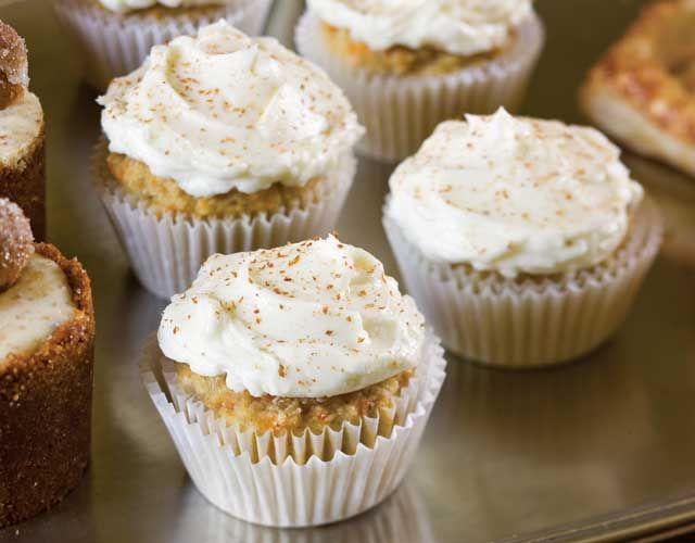 The miniature take on a traditional dessert makes these Carrot Cupcakes the perfect treat for afternoon tea.