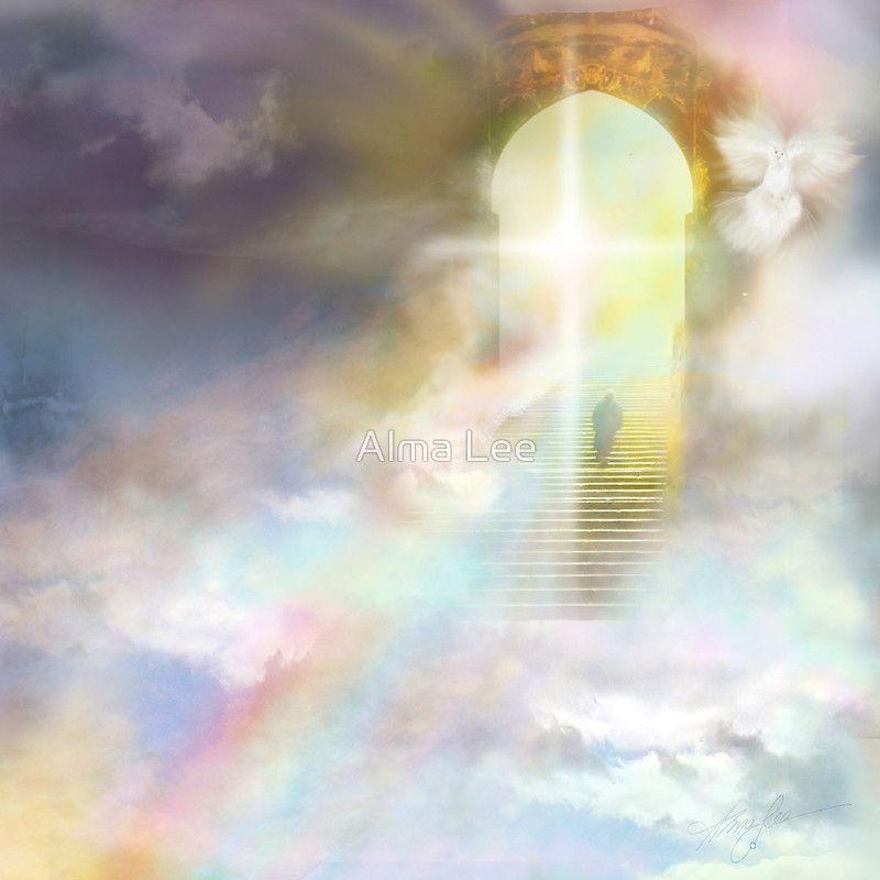 Stairway to Heaven by Alma Lee | Jesus images, Heaven images, Stairway to heaven