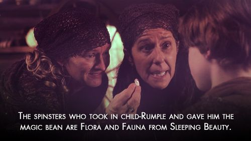 "Rumple's pseudo-mom-spinsters are secretly fairies. | The 22 Most Convincing ""Once Upon A Time"" Fan Theories"