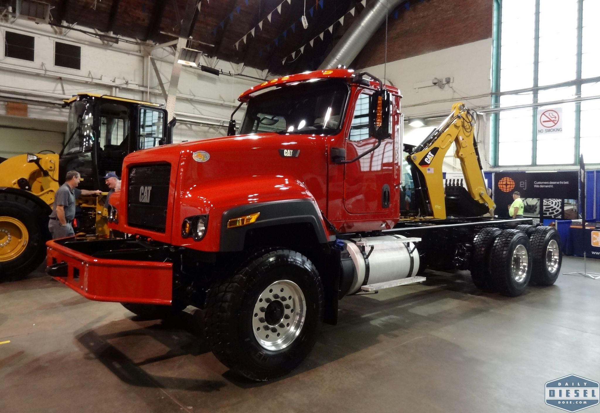 Future Water Truck Who Knows What We Do Know Is It S A Brand New Cat Ct681 Vocational Truck Trucks Dump Trucks Heavy Duty Trucks