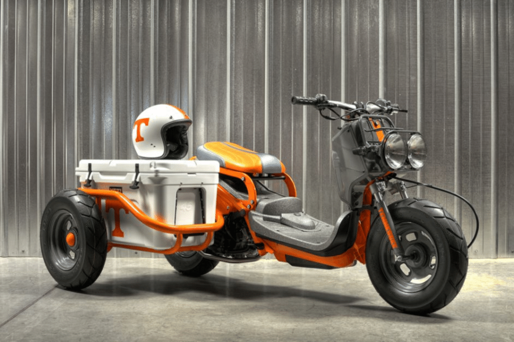 Très Win this custom Honda Ruckus | Motorcycles / Scooters | Pinterest  AC46