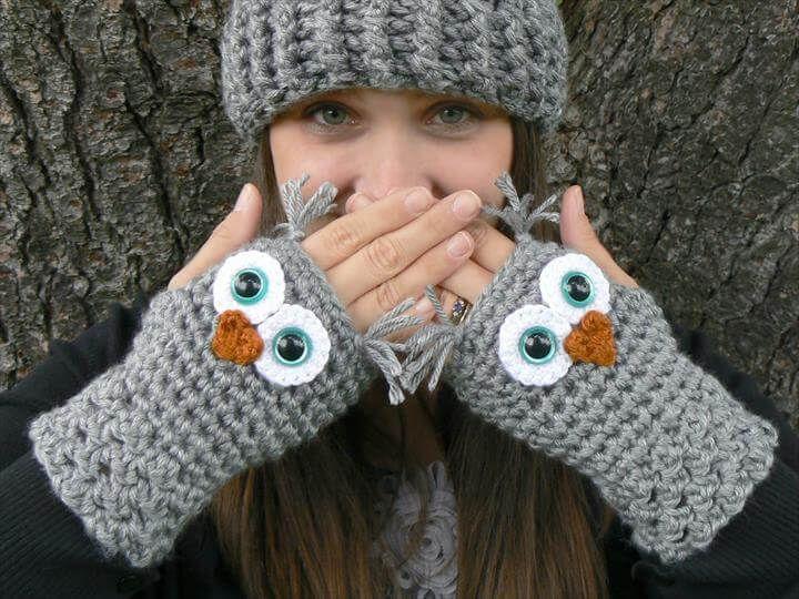 48 Marvelous Crochet Fingerless Gloves Patterns