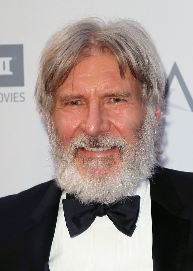 Harrison Ford Shocks Fans With New David-Letterman-Like Look | Harrison  ford, David letterman, Awesome beards