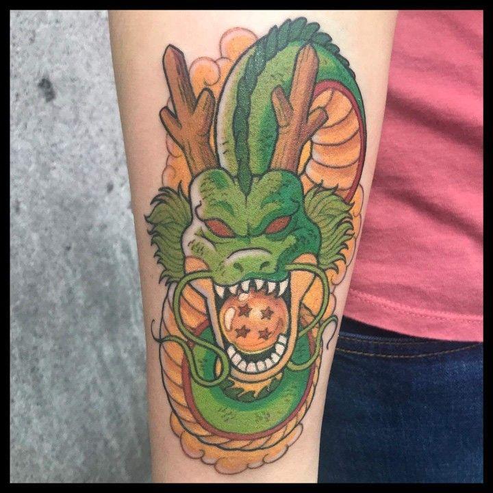 Dragon ball z shenron tattoo dragonball dragonballz
