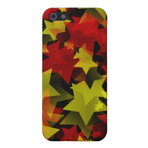 A million Christmas stars iPhone 5/5S Covers is an abstract pattern design with yellow and red stars representing the Christmas season. See all collection in christmas.peculiardesign.net . See other collections in peculiardesign.net