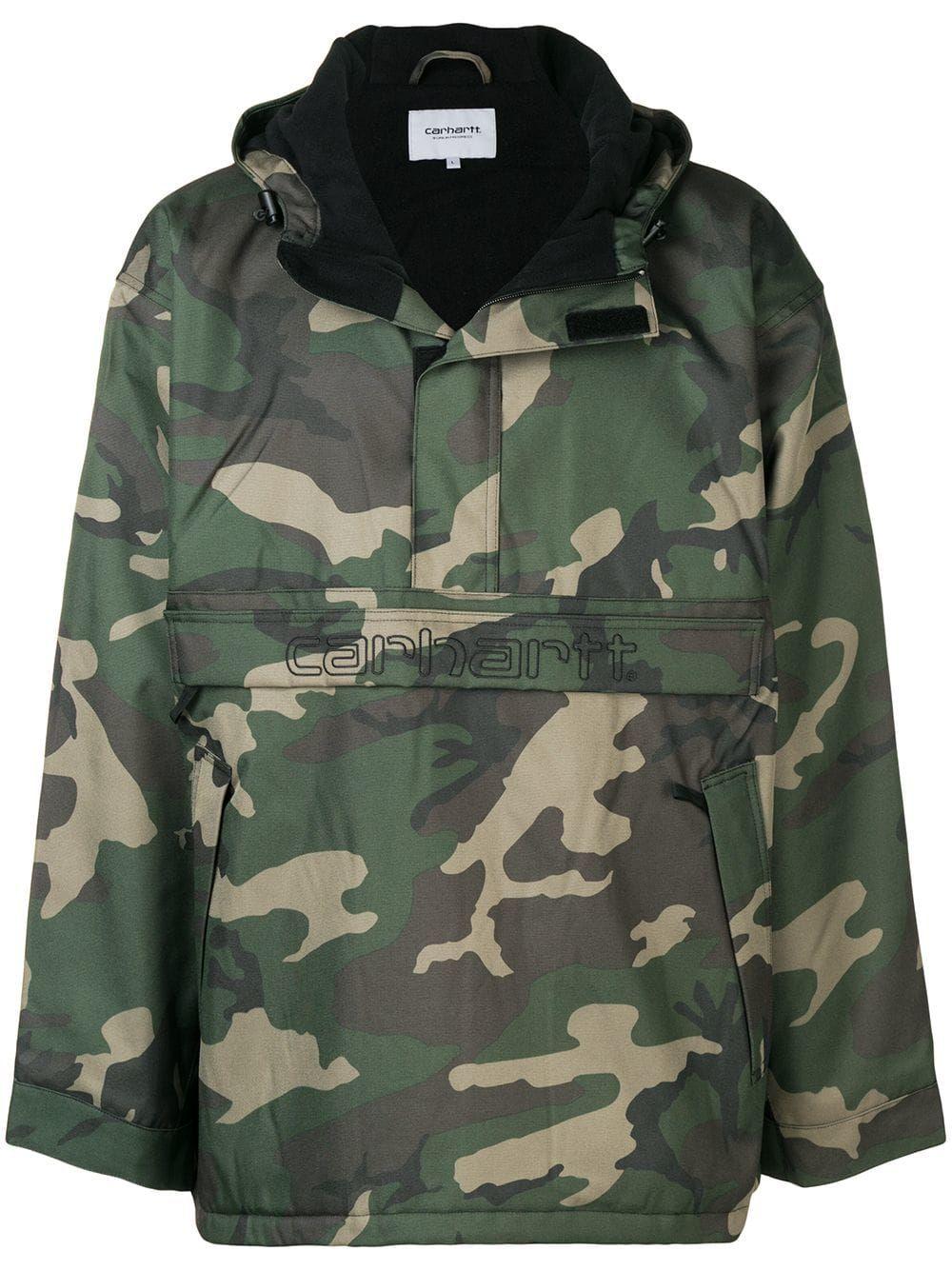 f9ac9899d2a5e CARHARTT CARHARTT HERITAGE CAMOUFLAGE HOODED JACKET - GREEN. #carhartt  #cloth