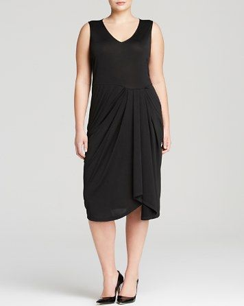 anna scholz plus Draped Jersey Dress | Bloomingdale's