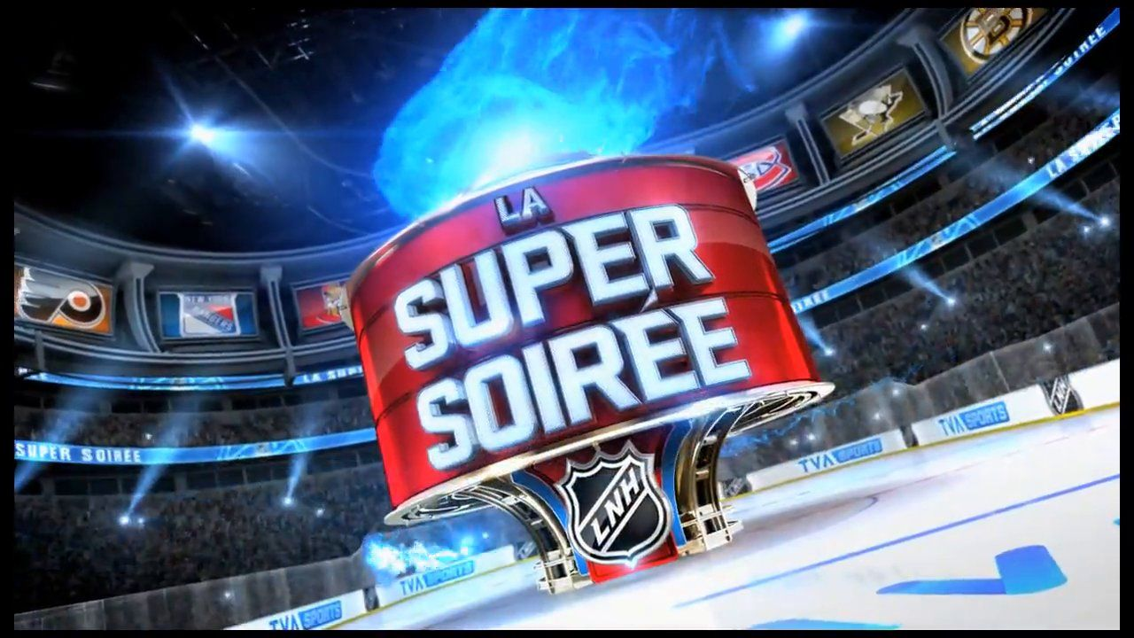 La Super Soiree Open / TVA Sports Sports channel, Tva