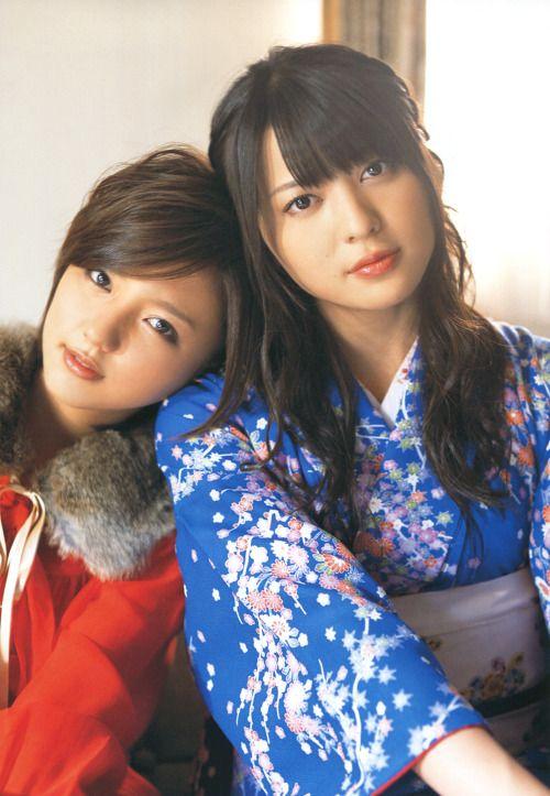 5eafee474 真野恵里菜 Erina Mano (ex-Hello! Project) x 矢島舞美 Maimi Yajima (℃-ute)