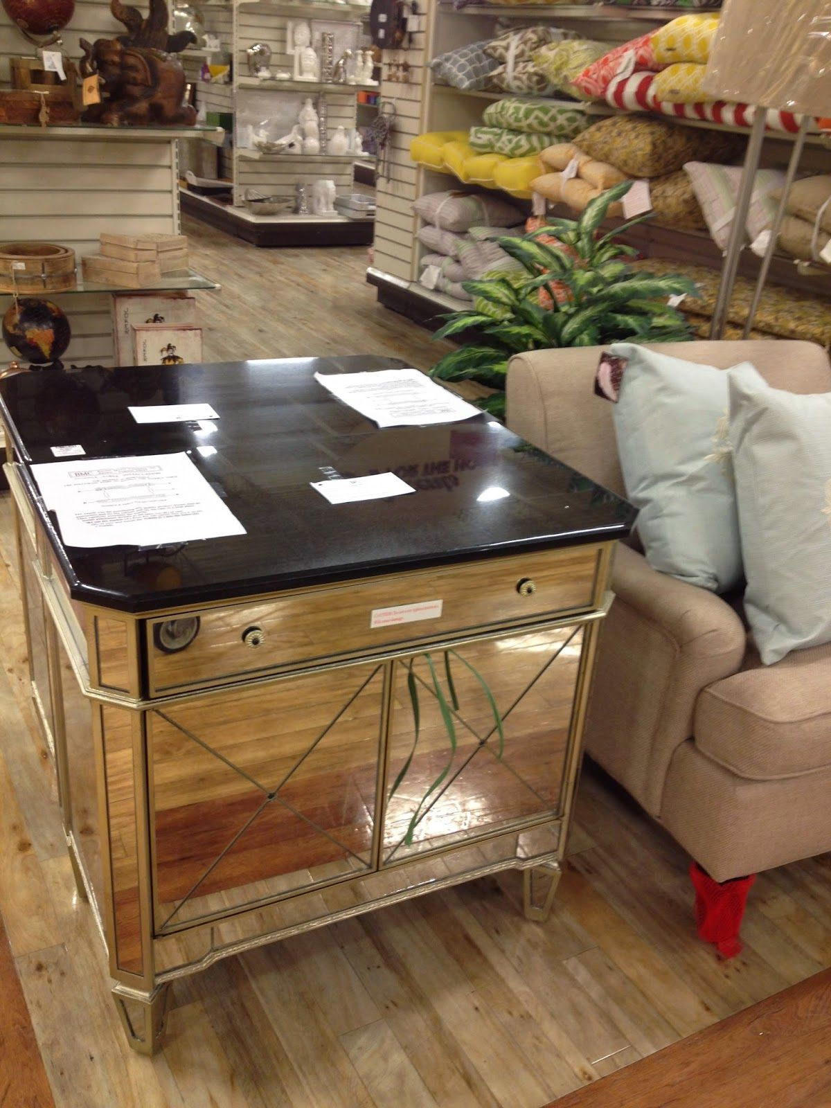 Home Sense Finds June 8 Mirrored Night Tables Already