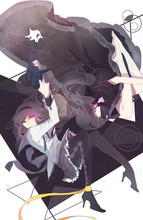 Anime Madoka Magica Homura Akemi Madoka Magica Madoka