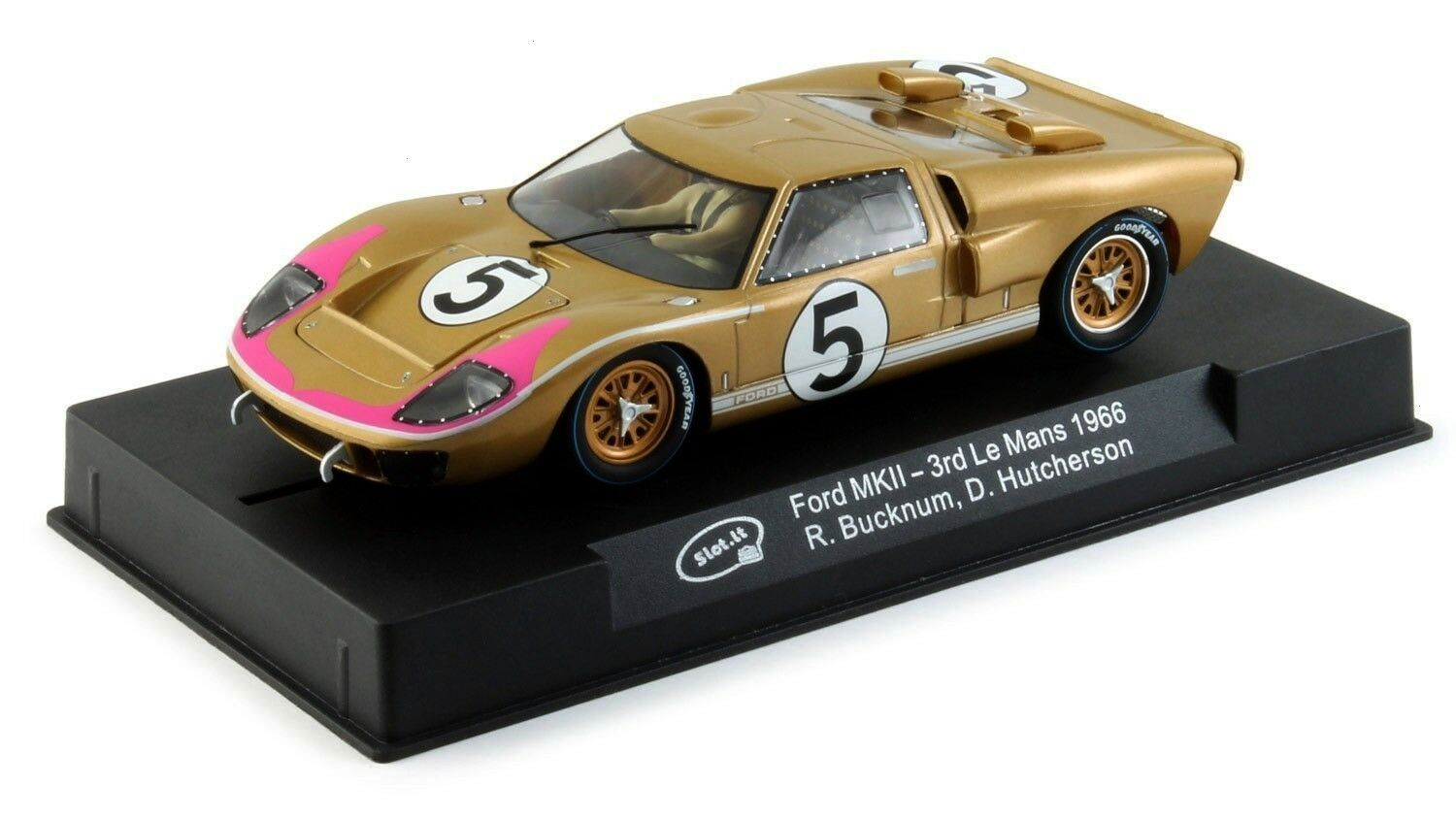link) Slot It Ford GT40 MKII - 1966 Le Mans 3rd 1/32 Scale Slot Car CA20C $49.99(eBay link) Slot It