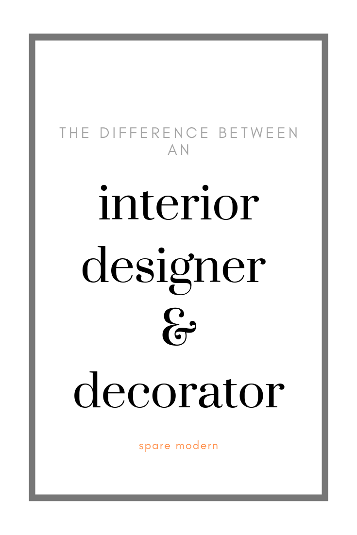 Interior Designers Vs Decorators What S The Difference Floor Plan Sketch Design Interior