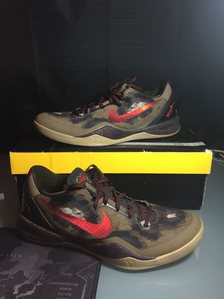 d56075cd3c Nike Kobe 8 Python Year of the Snake Size 11 Off White Basketball Authentic   fashion  clothing  shoes  accessories  mensshoes  athleticshoes (ebay link)