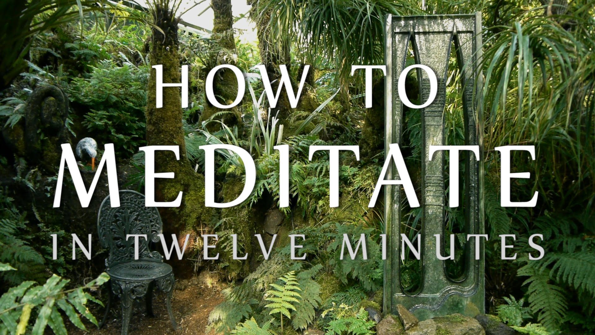 How To Meditate In Twelve Minutes (Guided Mindfulness Meditation for Beg...